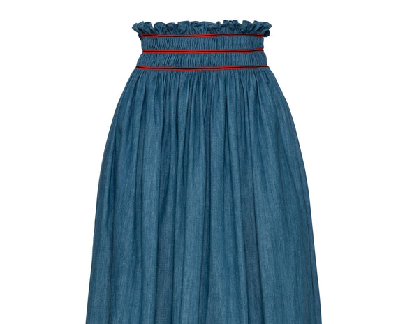 Miu Miu Denim Skirt