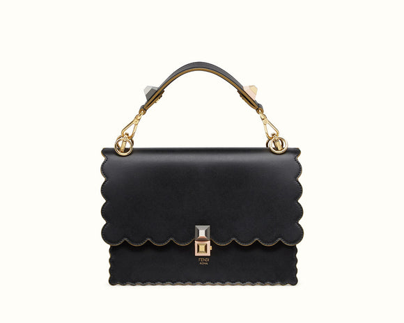 FENDI KAN I LEATHER BAG