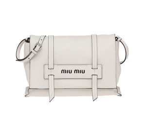 Miu Miu GRACE LUX LEATHER SHOULDER BAG