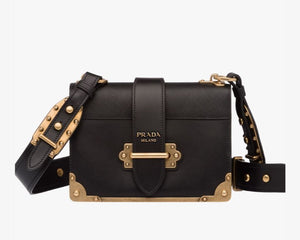 Prada Cahier leather bag