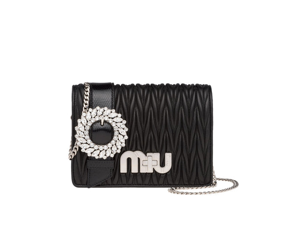 Miu Miu MATELASSÉ AND AYERS BAG