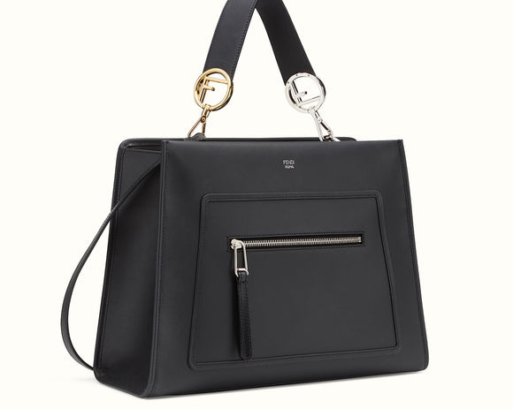 Fendi Black RUNAWAY REGULAR Bag