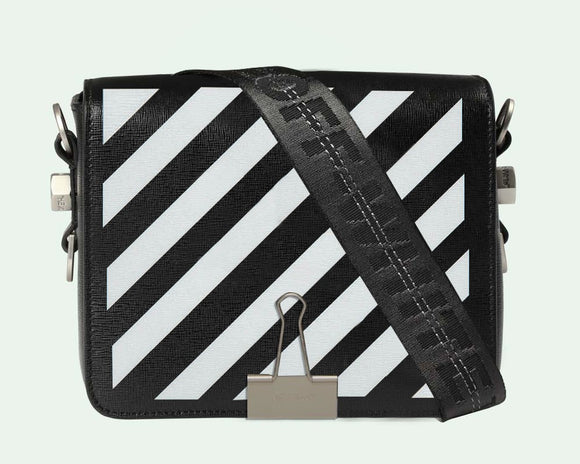 OFF-WHITE Binder Clip Bag
