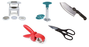 The Ultimate Ronco 4-Piece Kitchen Bundle + FREE Curtis Stone Pineapple Cutter - Ships Quick!
