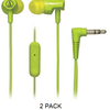2pk: Audio-Technica ATH-CLR100iS SonicFuel In-Ear Headphones with In-Line Microphone & Control