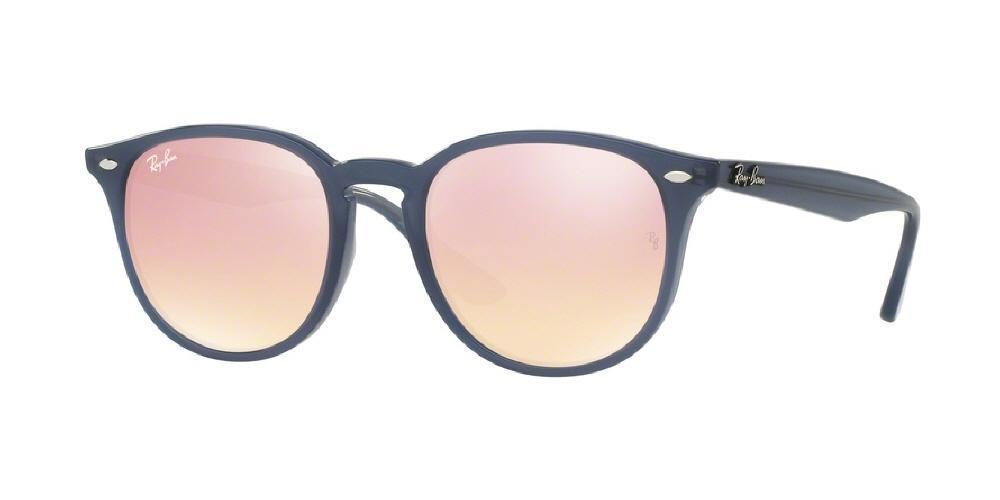 Ray Ban Opal Azure / Pink Copper Flash Mirror Sunglasses (RB 4259 6232/1T)