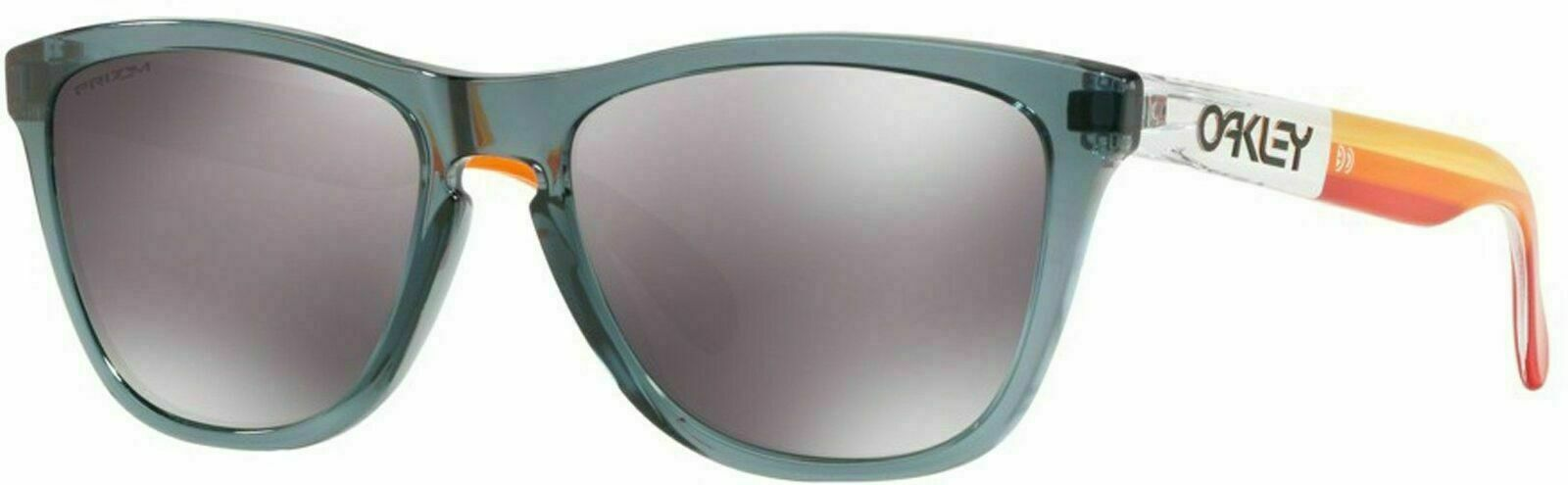 Oakley Frogskins Asia Fit Crystal Black /Prizm Black Lens Sunglasses (OO9245-7054) - Ships Next Day!