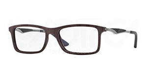 RAY-BAN Brown/Black/Gunmetal RX Eyeglasses -Ships Same/Next Day!