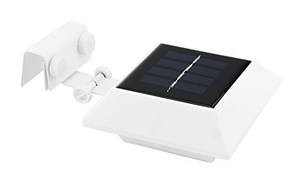 4 Pack: EcoThink Solar Gutter Lights - Ships Same/Next Day!