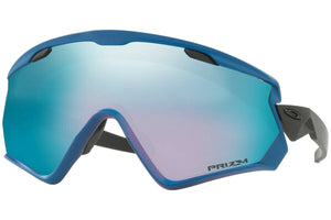 Oakley OO7072-07 Wind Jacket 2.0 California Blue Prizm Snow Sapphire Sunglasses - Ships Next Day!