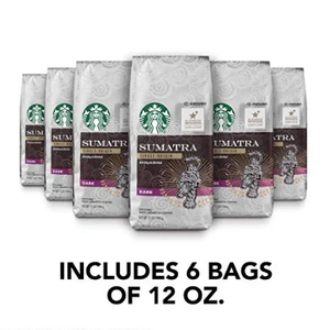 Starbucks Ground Coffee Blowout (6 or 12 Pack) 4 Flavors - Past Best-By Date - Ships Quick!