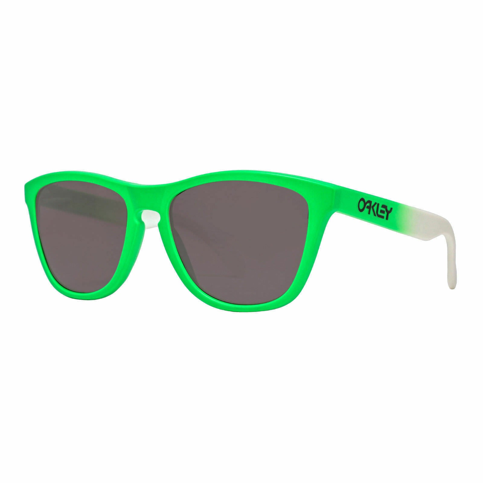 Oakley Frogskins Prizm Polarized Green Fade OO9013-99 Sunglasses - Ships Next Day!