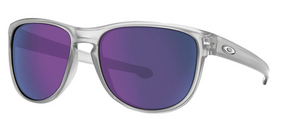 Oakley Sliver R Matte Clear Violet Iridium Sunglasses ( OO9342-02) - Ships Next Day!
