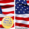 Full Size 3x5 American Flag (Screen Printed)- Made in the USA - 1,2 or 3 Pack - Ships Same/Next Day!
