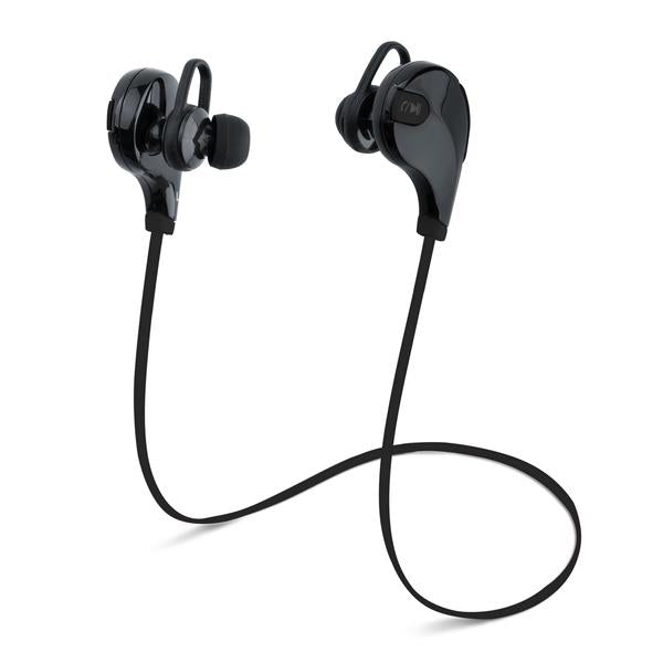 2 PACK: Laud Sports Wireless Bluetooth Sweat-proof Earphones w/ Built-In Mic for Calls or Song Selection