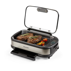 PowerXL 1500W Smokeless Grill Pro with Griddle Plate Model K50547 (Refurbished/Like New!) - Ships Quick!