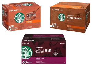 (25¢ EACH!) 300 Count: Starbucks K-Cup Coffee Pods - Ships Quick!