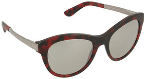 Dolce & Gabbana Women's Cat Eye Mirrored Sunglasses (DG4243 28896G 53mm)