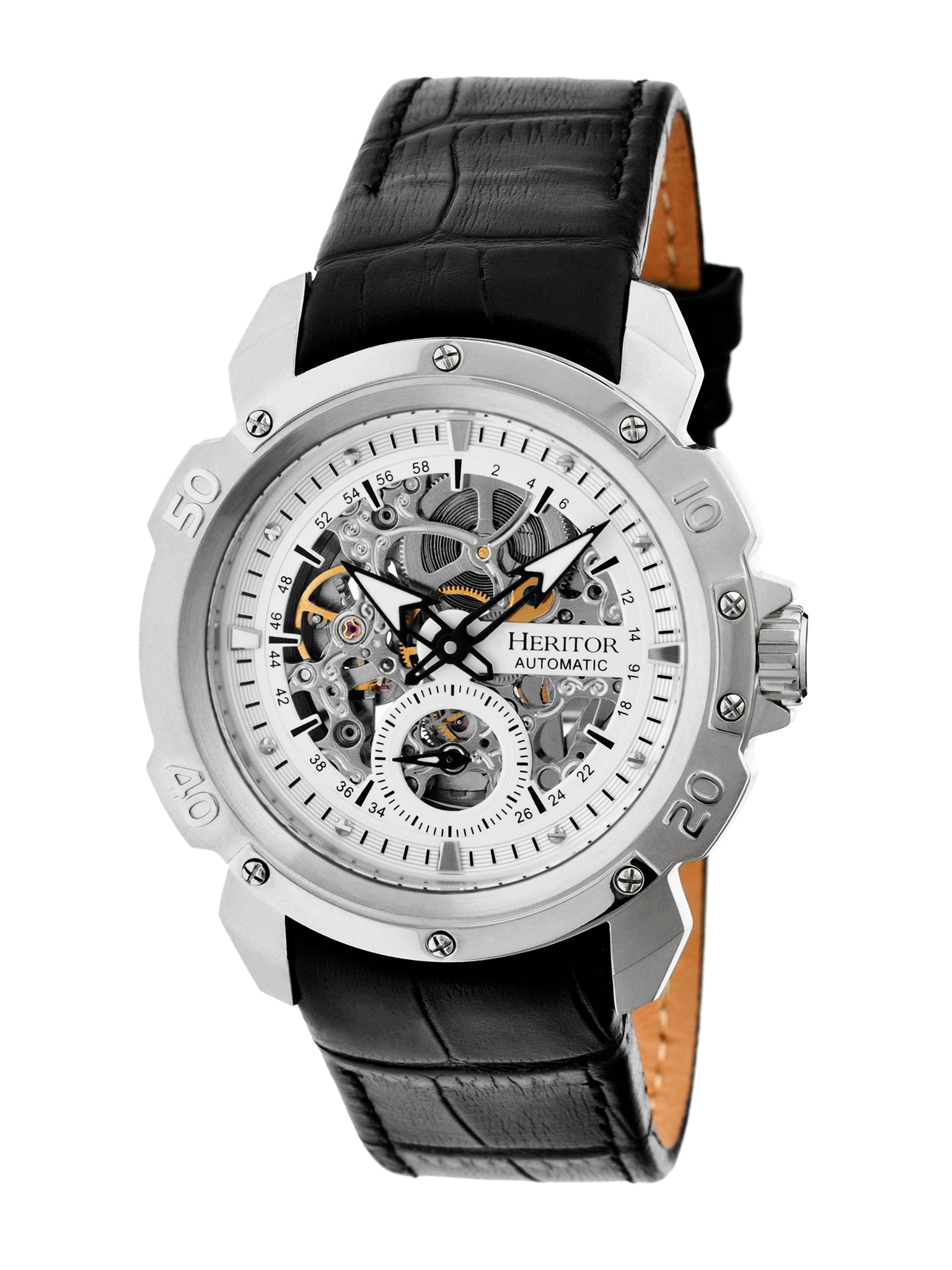 "Heritor Automatic ""Carter"" Men's Skeleton Dial Watches - Use Code Heritor120 for $120 Off!"