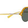 Versace Yellow / Green Medusa Round Sunglasses (VE 4337 5252/71) - Ships Same/Next Day!
