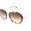 Giorgio Armani Tortoise & Gold / Gradient Brown Sunglasses (AR8040 528213 54MM) - Ships Same/Next Day!