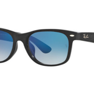 Ray-Ban Black Blue Gradient Wayfarer Sunglasses (RB2132F 62423F 58-18) - Ships Same/Next Day!