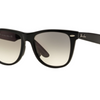 Ray-Ban Asian Fit Black / Gradient Lens Sunglasses (RB2140F 901/32) - Ships Same/Next Day!