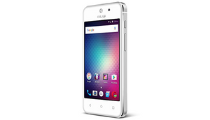 "BLU Vivo 5 Mini - 4.0"" Smartphone - Aluminum  Design in Silver - Ships Same/Next Day!"
