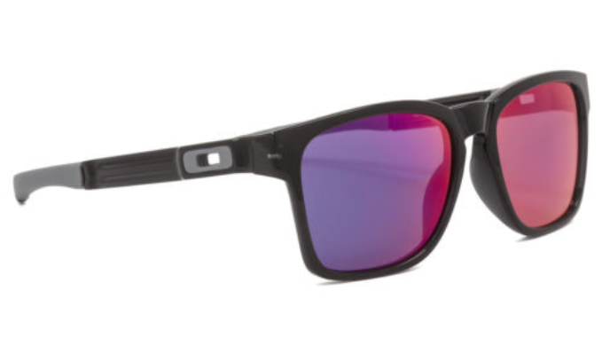 89eb62a8c8367 Oakley Catalyst Black Ink   Positive Red Iridium Sunglasses (OO9272-06) -  Ships