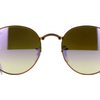 RayBan Bronze-Copper Frame Lilac Grad Flash Lens Sunglasses (RB3532 198/7X 47mm)!