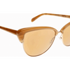 Oliver Peoples Alisha Light Brown/ Brown Gradient Sunglasses ( OV5244S 14697T) - Ships Same/Next Day!