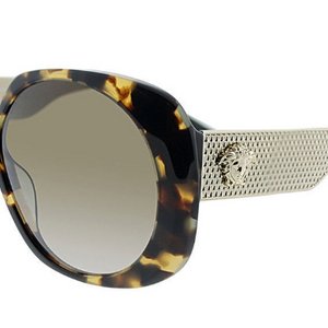 VERSACE Havana Tortoise Gold / Brown Sunglasses (VE 4331 988/13) - Ships Same/Next Day!