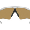 Oakley Radar Ev XS Path Silver Fire Iridium Sunglasses (OO9001-0831)!