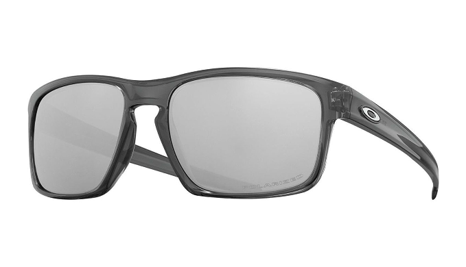 Oakley Sliver Polarized Grey Smoke / Chrome Iridium Sunglasses (OO9262-13) - Ships Same/Next Day!
