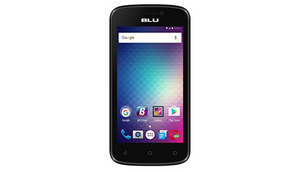 BLU Advance 4.0M Unlocked GSM Dual-SIM Quad-Core Android Marshmallow Smartphone - Black (Refurbished) - Ships Same/Next Day!