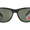 Ray-Ban Polarized Black / Classic Green G-15 Sunglasses (RB4184 601/9A) - Ships Same/Next Day!