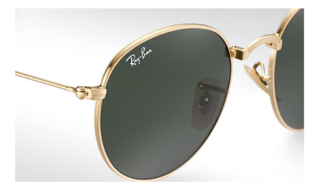 6ebfe4359 ... coupon for ray ban round gold metal green classic g 15 lens folding  sunglasses 781da fbb14