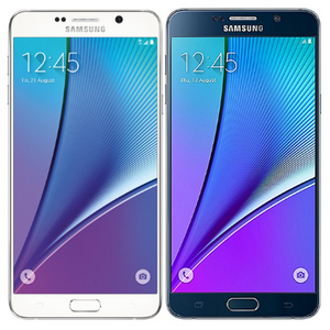 Samsung Galaxy Note 5 32GB Smartphone - Locked to Verizon - Choice of Black or White (Refurbished)