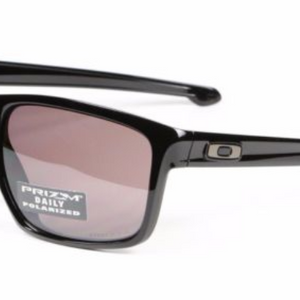 OAKLEY Sliver  Asian Fit Polished Blk/ Prizm Daily Polarized Sunglasses  (OO9269-05) - Ships Same/Next Day!