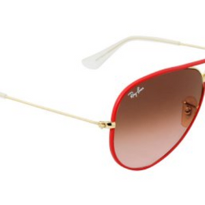 Ray-Ban Men's Arista Pink Gradient Aviator Sunglasses (RB3025JM 001/X3 58mm) - Ships Same/Next Day!