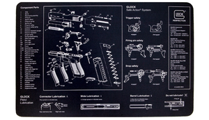 Glock Gunsmith's Bench Mat - Ships Same/Next Day!