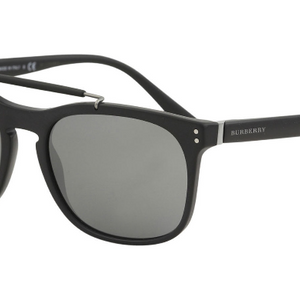 Burberry Matte Black Sunglasses - Ships Same/Next Day! (BE4244 3464/6G)