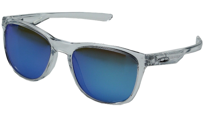 fa705a9aab Oakley Trillbe X Polished Clear Sapphire Iridium Polarized Sunglasses  (OO9340-05) -
