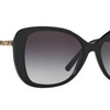 Burberry  Black / Gray Sunglasses (BE4238 3001/8G 57MM) - Ships Same/Next Day!
