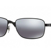 Ray-Ban Matte Black / Grey Mirror Polarized Sunglasses ( RB3529 006/82 58MM) - Ships Same/Next Day!