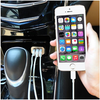 2 Pack: High-Speed 3-Port 5.1 Amp USB Car Charger - Charge Up To 3 Devices At Once - Ships Same/Next Day!