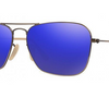 Ray-Ban Caravan Mirror Sunglasses - Choice of 3 Colors (RB3136 112/6, RB3136 167/68, RB3136 167/4K 58MM) - Ships Same/Next Day!