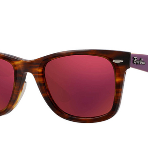 Ray-Ban Tortoise Mirror Sunglasses - Choice of 2 Colors (RB2140 1177/2k, RB2140 1178/30 50MM) - Ships Same/Next Day!