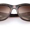Ray-Ban Highstreet Sunglasses - Tortoise Frame With Brown Gradient Lens (RB4216 710/13 56MM) - Ships Same/Next Day!