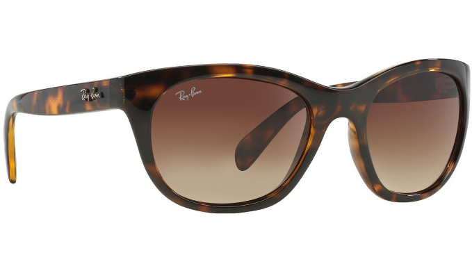 4f2128272d Ray-Ban Highstreet Sunglasses - Tortoise Frame With Brown Gradient Lens ( RB4216 710